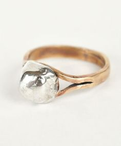 Silver Orb Ring by Open House