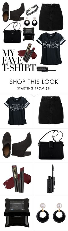 """My Fave 😁"" by peacock-style ❤ liked on Polyvore featuring IRO, L.A. Girl, MAC Cosmetics, Illamasqua and MyFaveTshirt"