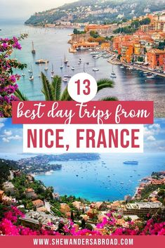 Do you have some extra days in Nice and wondering what to do? Here's a complete list of the absolute best day trips from Nice you can't miss including Menton, Monaco, Marseille, Cannes and many more! #nicefrance #france #shewandersabroad   Best Day Trips from Nice, France   Pretty towns near Nice, France   Best Places to visit in the French Riviera   French Riviera Travel Guide   Cannes France   Monte Carlo Monaco   South of France Travel Guide   Places to See Near Nice   France Travel Tips Travel Route, Europe Travel Tips, Places To Travel, European Travel, Travel Guides, Outfits Winter, Outfits Spring, Nice France, South Of France