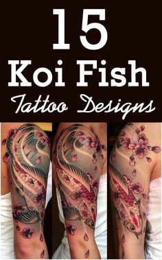 Koi fish tattoo.. Hopefully going to be my next tatyoo and first sleeve!