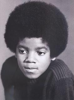 Young Michael Jackson, he was so adorable!