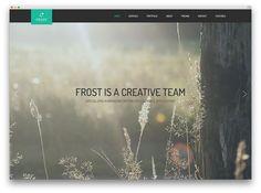 frost fullscreen theme