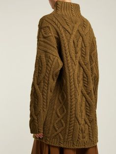 River Island Mustard yellow chunky cable knit cardigan ( 84 ... cb72d3d1f