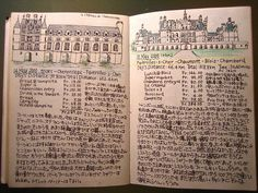 i want to make pretty illustrative daily diary like this. #travel #diary #europe