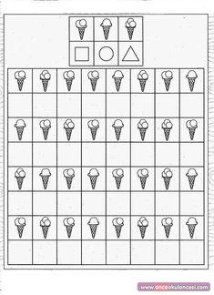 Kids for Worksheets: Észtorna - Angela Lakatos 2019 Visual Perceptual Activities, Preschool Activities, Visual Motor Activities, Kindergarten Worksheets, Worksheets For Kids, Printable Worksheets, Kids Education, Special Education, Math Patterns