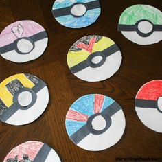 This simple Poké Ball Paper Plate Craft is a fun activity to get kids creatively working on their fine motor skills while tapping into that love of Pokémon. Paper Plate Crafts For Kids, Craft Projects For Kids, Crafts For Kids To Make, Arts And Crafts Projects, Art For Kids, Paper Crafts, Kid Crafts, Craft Ideas, Pokemon Birthday