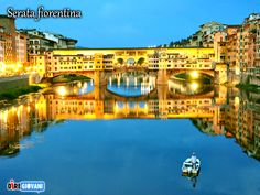 An evening on Ponte Vecchio - Florence, Italy Florence Italy, New Travel, Mansions, House Styles, Outdoor Decor, Travel, Manor Houses, Villas, Mansion
