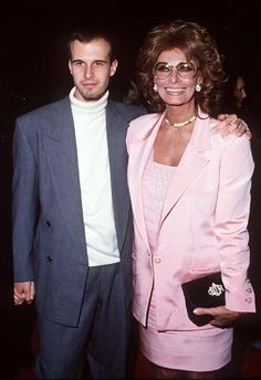 Sophia Loren and Edoardo Ponti at event of Prêt-à-Porter (1994)
