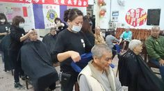 Keelung Zhongxiao #LionsClub (Taiwan) provided hair cuts and food to homeless people
