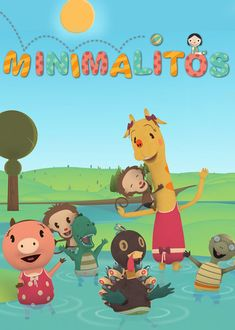 Minimalitos - The Minimalitos are friends who love going to kindergarten, where they sing, play and learn all sorts of things about the world around them.