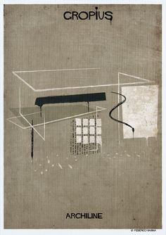 Gallery - Federico Babina's ARCHILINE Paints the Essence of Architecture's Greatest Works - 2