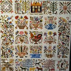 In the American Tradition - Appliqued - Textiles and the Triplett Sisters Roseville Album Quilt by Cynthia Collier