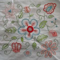 embroidery block pattern