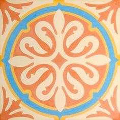 VN Chateau 7 Portugese cementtegel van Designtegels.nl