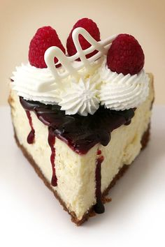 Raspberry white chocolate Cheesecake Recipe