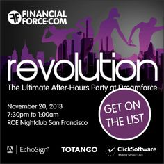 REVOLUTION party sponsored by... #DF13 #FFRevolution