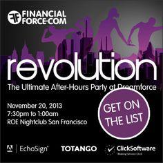 REVOLUTION party sponsored by... #DF13 #FFRevolution