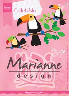 Marianne Design - Die - Collectables - Eline's toucan - COL1457