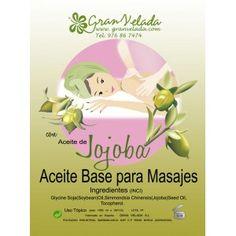 Aceite masaje base Jojoba, aceite para masajes profesional, alta calidad, vendido en 1 litro y 5 Litros.