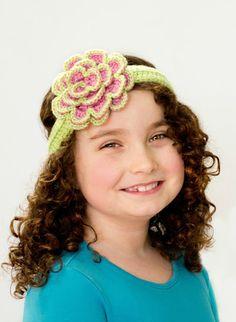 Beautifully Blushed Headband and Flower - Free Crochet Patterns from @Olivia García García García {Hopeful Honey}