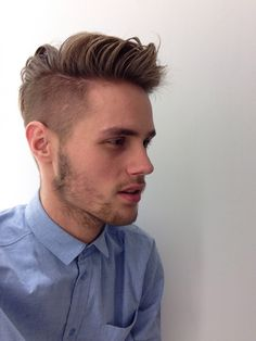 Cool Undercut Hairstyle Side Quiff