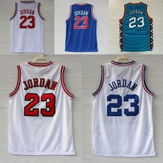 Aliexpress.com : Buy Space Jam Jersey Michael Jordan #23 White