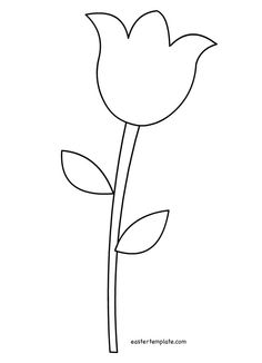 Easter Templates Printable Free Art Template Flower Lique Patterns