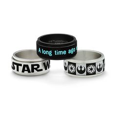 Star Wars Stainless Steel Rings | ThinkGeek