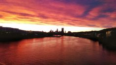 Sunset in Pittsburgh
