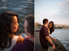 Georgetown waterfront engagement session | Carly Arnwine Photography