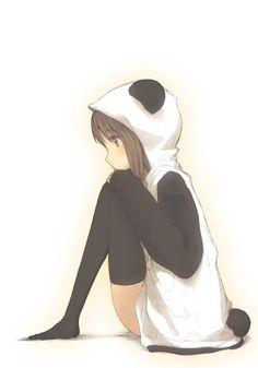 Panda Anime Girl