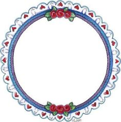 Molduras e Barras - Carla Simons - Picasa Web Albums - circular frame - eyelet with hearts Printable Frames, Printable Paper, Boarders And Frames, Arts And Crafts, Paper Crafts, Frame Background, Frame Clipart, Creative Pictures, Border Design