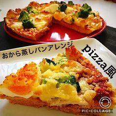 美味しい生おから蒸しパン! | 宅トレと食事と美容!ボディメイクは焦らず楽しむ! Sushi Recipes, Baked Potato, Pizza, Baking, Ethnic Recipes, Food, Patisserie, Bakken, Hoods