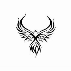 Image result for Tribal Phoenix Tattoo Designs #AwesomeTattooDesignsAndIdeas