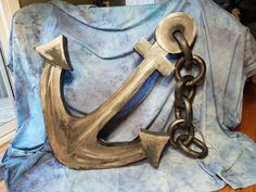 Cardboard anchor