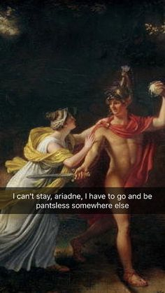 As near as I can tell from the mainstream media, we are a generation of soulless degenerates. All we care about are memes, selfies, and emojis—and if you're Renaissance Memes, Medieval Memes, Greek Paintings, Funny Paintings, Bad Memes, Funny Memes, Greek Mythology Humor, Greece Mythology, Roman Mythology