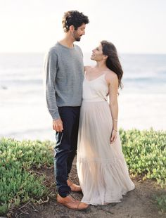 California engagement session: Photography : Christine Donee Read More on SMP: http://www.stylemepretty.com/2017/02/28/big-sur-engagement-after-a-long-distance-love-affair/