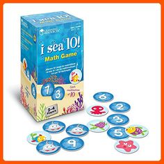 Learning Resources I Sea 10! Game - Toys for little kids (*Amazon Partner-Link)