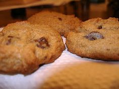 ... Chocolate Chip Cookies, Pumpkin Chocolate Chip Cookies and Chocolate
