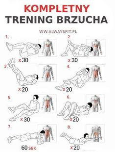 Kompletny Trening Brzucha - Full Sixpack Training Plan Health Ab - Yeah We Workout ! Best Workout Plan, Six Pack Abs Workout, Abs Workout For Women, At Home Workout Plan, Fun Workouts, At Home Workouts, Corps Parfait, Sixpack Training, Best Abdominal Exercises