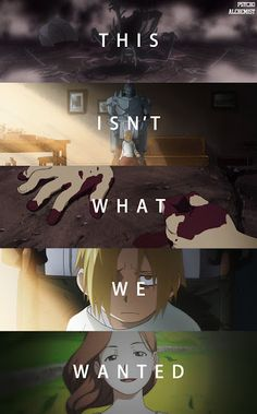 We just wanted to see her smile again. • My feelings ... </3 || Fullmetal Alchemist Brotherhood • Elric family