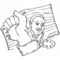 Martin Luther King Jr I Have a Dream coloring page Famous people