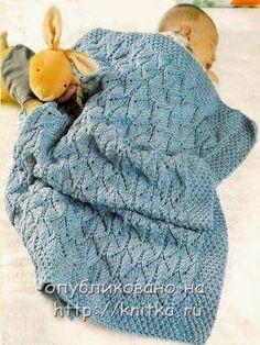 BEBE CROCHÊ: Manta de trico