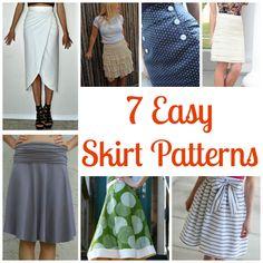 7 Easy Skirt Patterns
