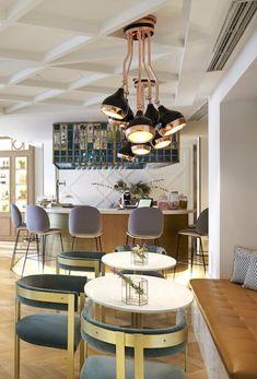 Hotel Decoration Ideas Vincci Centrum Filled With Hanna Ceiling Lamps Minimalistisches Design