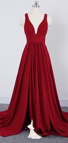 A-line Straps Prom Dress Simple Cheap Long Prom Dresses Bridesmaid Dress Gorgeous Prom Dresses, Simple Prom Dress, Unique Prom Dresses, Formal Evening Dresses, Burgundy Homecoming Dresses, Champagne Bridesmaid Dresses, Modest Bridesmaid Dresses, Straps Prom Dresses, Prom Dresses Two Piece