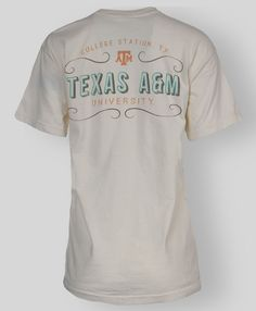 College Station Texas A&M Comfort Colors t-shirt #AggieGifts #AggieStyle