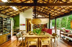 "Conheça a casa ""in natura"" assinada por Vania Chene - Casa"