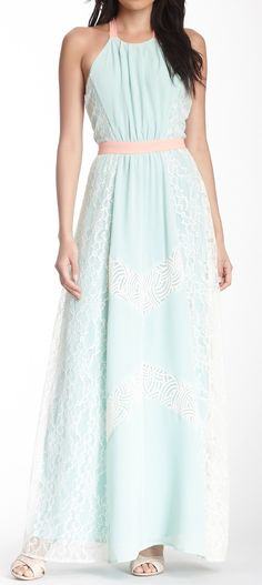 Mint maxi - move the belt up and I can wear this
