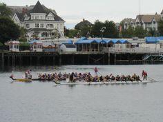 Dragon Boat Racing in Victoria, Canada